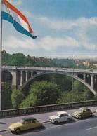LUXEBORG  /  Pont Adolphe  _  Viaggiata - Cartoline