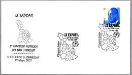 MAPA Del BAJO LLOBREGAT - MAP. S. Feliu De Llobregat 2007 - Géographie