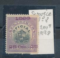 N°8 SERVICE 1899 VENEZUELA - Venezuela