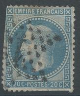 Lot N°47185   N°29B, Oblit étoile Chiffrée 13 De PARIS (Hotel-de-Ville) - 1863-1870 Napoleon III With Laurels