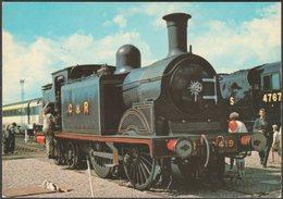 Caledonian Railway 0-4-4T Class 439 No 419 - ETW Dennis Postcard - Trains