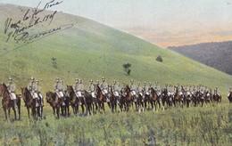 CAVALIERS ALLEMANDS 1905 - Manoeuvres