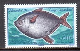 TAAF - 2007 - Poisson Des Dieux ** - Terres Australes Et Antarctiques Françaises (TAAF)