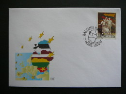 Tenth Anniversary Of The Baltic Chain # Lietuva Litauen Lituanie Litouwen Lithuania 1999 FDC - Lituanie
