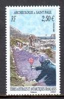 TAAF - 2007 - Archéologie à Saint Paul ** - Terres Australes Et Antarctiques Françaises (TAAF)