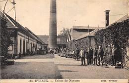 27-EVREUX-USINE DE NAVARRE - Evreux