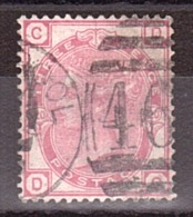 GB - 1873 - N° 51 - Pl 20 - Victoria - CD-DC - Used Stamps