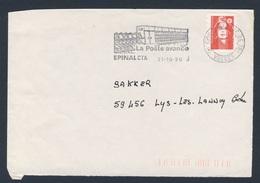France Rep. Française 1996 Bande D'adresse / Adressstreifen - Poste Avance, Epinal Cta, 1996 / Poststelle - Post