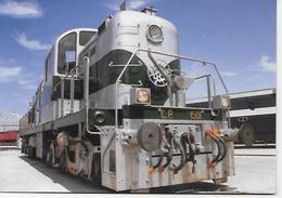PORTUGAL-  Entroncamento - Locomotiva Alco 1501. - Trains