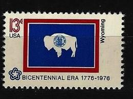 USA Mi-Nr. 1246 Wyoming Postfrisch - Briefmarken