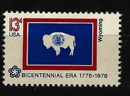 USA Mi-Nr. 1246 Wyoming Postfrisch - Timbres