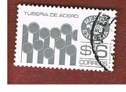 MESSICO (MEXICO) -  SG 1359ee   - 1985  MEXICAN EXPORTS: STEEL PIPES             -  USED° - Messico