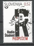 SI 2019-1357 RADIO STUDENT, SLOVENIA, 1 X 1v, MNH - Slowenien