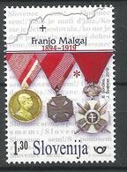 SI 2019-1358 Military Leader Franjo Malgaj, SLOVENIA, 1 X 1v, MNH - Militaria