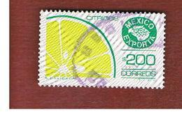 MESSICO (MEXICO) -  SG 1360f   - 1983    MEXICAN EXPORTS:   CITRUS  FRUIT          -  USED° - Messico