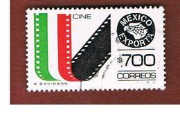 MESSICO (MEXICO) -  SG 1360k   - 1988    MEXICAN EXPORTS:   FILM      -  USED° - Messico