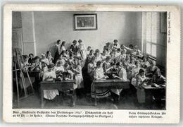52406087 - Schule Kind Stricken - Guerre 1914-18
