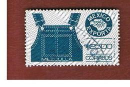 MESSICO (MEXICO) -  SG 1360z  - 1991     MEXICAN  EXPORTS:  OVERALLS    -  USED° - Messico