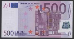 S ITALIA  500 EURO J001  DUISENBERG  PERFECT UNC - 500 Euro