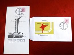 Maxikaart & FDC Sjouwer Aalbeke - 1971-1980