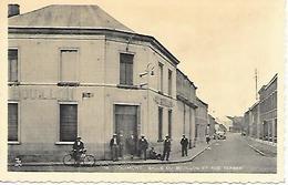 CPA /PK /  AK  - JOLIMONT  Salle Du Bouillon Et Rue Ferrer  ( Animation ) - La Louvière