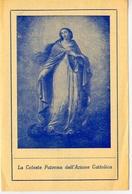 Santino - Madonna - La Celeste Patrona Dell'azione Cattolica - E1 - Santini