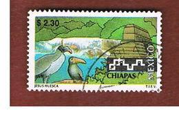 MESSICO (MEXICO) -  SG 2414  - 1997  TOURISM: CHIAPAS                        -  USED° - Messico