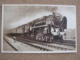 The East Anglian British Railways Eastern Region   Locomotive No.70013 Oliver Cromwell - Trains