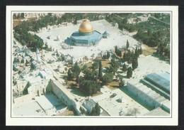 Palastine Picture Postcard Aerial View Masjid -e- Aqsa Jerusalem Mosque View Card - Palestine