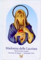 Santino - Madonna Delle Lacrime - Siracusa - E1 - Santini