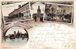 MANNHEIM GERMANY~HOFTHEATERKELLER 1896 PHILIPP FREY PUBLISHED POSTCARD 39731 - Mannheim