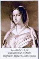 Santino - Maria Cristina Di Savoia - Regno Delle Due Sicilie - E1 - Santini