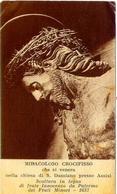 Santino - Miracoloso Crocifisso - Che Si Venera Nella Chiesa Di S.damiano - Assisi - E1 - Santini