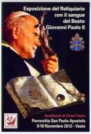 Santino - Papa Giovanni Paolo II -  Parrocchia San Paolo Apostolo - Vasto - E1 - Santini