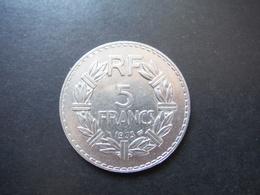 5 Francs Lavrillier 1933 - Francia