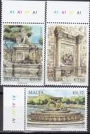 Malta, 2013, 1814/16,  Architektonische Schätze (I): Brunnen, MNH ** - Malta