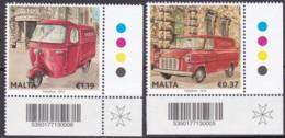 Malta, 2013, 1817/18,  Europa: Postfahrzeuge. MNH ** - Malte