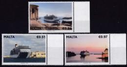 Malta, 2013, 1819/21,  Kreuzfahrtschiffe. MNH ** - Malta