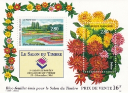 Frankreich,1994, 3053/54 Block 14,, Briefmarken-Ausstellung SALON DU TIMBRE, Paris. MNH ** - Blocs & Feuillets