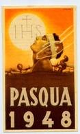 Santino - Precetto Pasquale 1948 - E1 - Santini