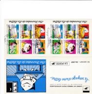 FRANCE,1997, Mi.  3209/14, CARNET LES JOURNEES DE LA LETTRE, Oo - Frankreich