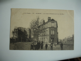 Clichy  Route Asnieres Et Rue Du Bac Animation - Clichy