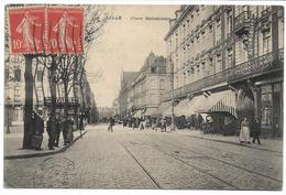 CPA NORD 59 LILLE Place Ratisbonne édition F.F.M  Quartier De Wazemmes - Lille