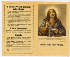 Santino - Ricordo Comunione Pasquale - E1 - Santini