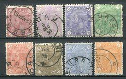 Rumänien Nr.83/9       O  Used       (793) - 1881-1918: Charles Ier
