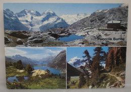 Fuorcla Surlej Svizzera Cartolina 1992 - GR Grisons