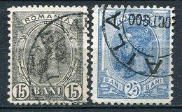 Rumänien Nr.115/6       O  Used       (795) - 1881-1918: Charles Ier