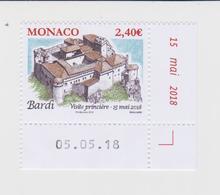 Monaco Mi 3397 Castles - Chateau Bardi * * 2018 - Monaco