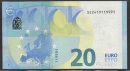 EURO 20  ITALIA S021  FINE NUMBER  UNC - 20 Euro