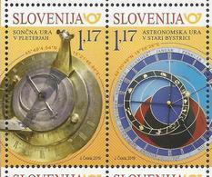 SI 2019-1355-6 JOINT ISSUES SLOVAKIA-SLOVENIA, SLOVENIA, 1 X 2v, MNH - Gemeinschaftsausgaben